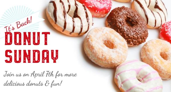 Donut Sunday is Back!
