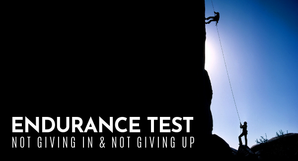 New Sermon Series: Endurance Test