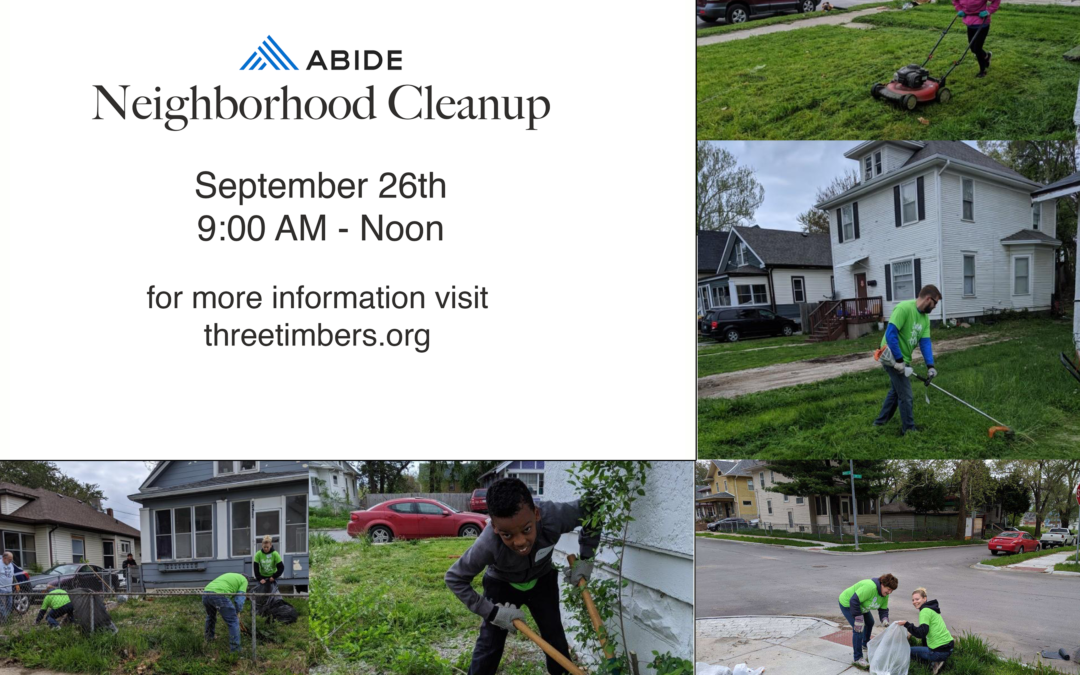 ABIDE Neighborhood Cleanup