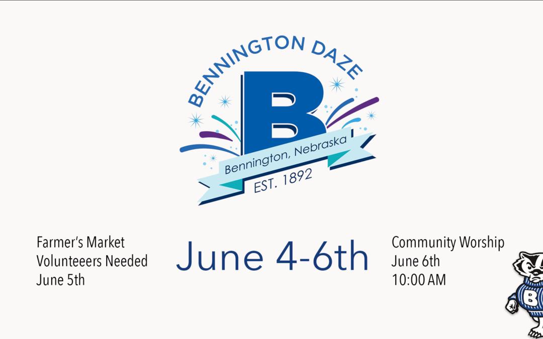 Bennington Daze 2021